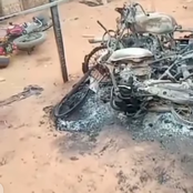 After Hausa Men Allegedly Burnt A Benin Boy Alive, See What Angry Youths Did To Hausa Houses In Edo