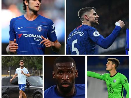 Five Players Chelsea Will Look To Sell In January In Other To Fund Declan Rice Transfer Deal
