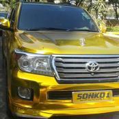 PHOTOS: Money is Good, Mike Sonko's Fleet of Golden Cars.