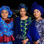 Kannywood:See the beautiful pictures of Kannywood members on Isah Alolo's wedding dinner.PHOTOS