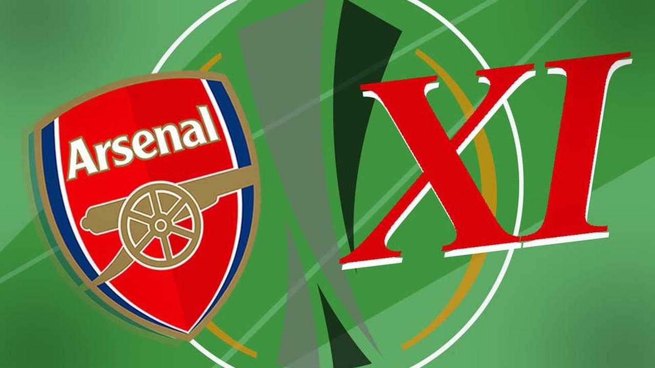 How we expect Arsenal to line up against Villarreal