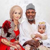 Meet Senator Sani Yerima With His Egyptian Wife And Their Child
