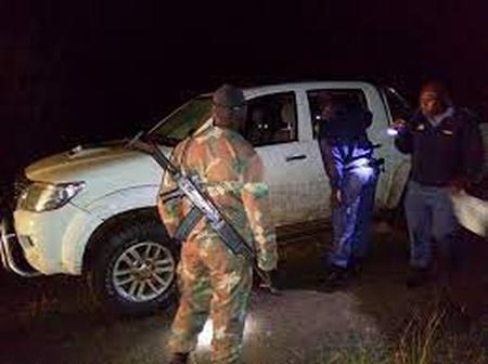 South African Defenses Forces were added to the Beitbridge border post to curb robbers and hijackers