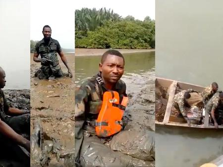 Few Days After 7 Military Officers Died In A Plane Crash, See What Has Happened Again To Navy Men