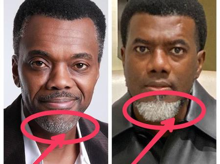 To Those People Who Think Reno Omokri Dyed His Beards White, See What He Said On Instagram