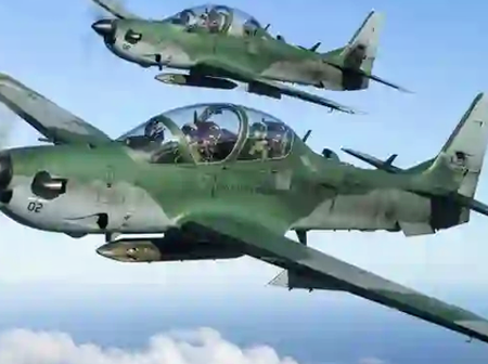 Missing Jet: NAF says it is not Hiding Anything as Pilots, Crash Site Still not Found