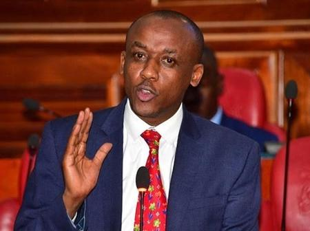 Orengo Delivers Good News To Senator Mutula Junior As He Showers Him With Praises.