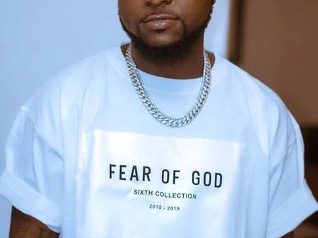 Davido Claps Back At Twitter User Who Accused Him Of Having A Frog Voice - See His Reply