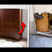 He went missing for 2 years, Then someone told the police to look behind the dresser