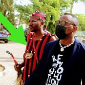See The Native Doctor That Accompanied Sowore To Court This Morning