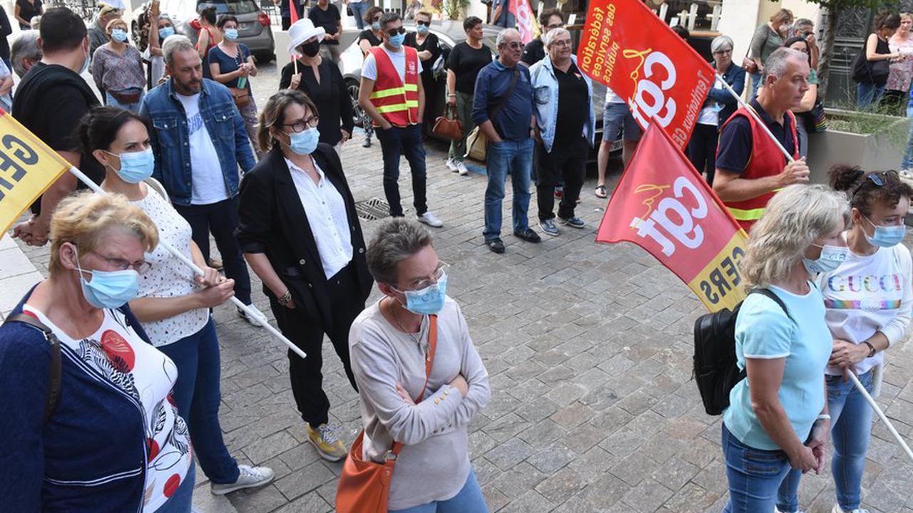 """Manifestation des aides à domicile à Auch : """"On en a ras le bol de se faire prendre pour des pions"""""""