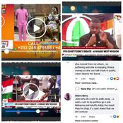 See Comments People Made When John Dumelo Walks Out Of Lydia Alhassan During A Live Debate See Why