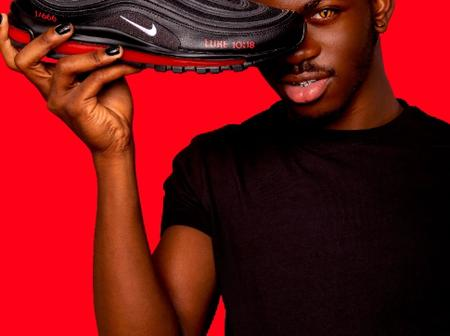 American rapper lil nas x sells out shoes containing real human blood