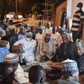 Governor Zulum Pays Condolence Visit To His Friend Who Lost His Father (Photos)
