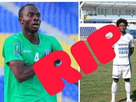 See 5 Nigerian Footballers who died while playing.