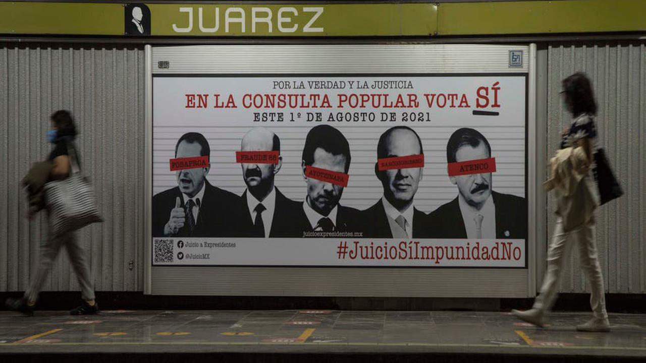 Mexico to hold referendum on accountability of ex-presidents