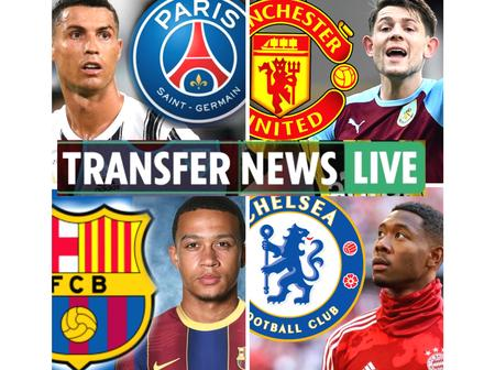 Latest transfer news:updates on Ronaldo, Giroud, Ozil, Messi, Hazard, Aguero, Alaba and others