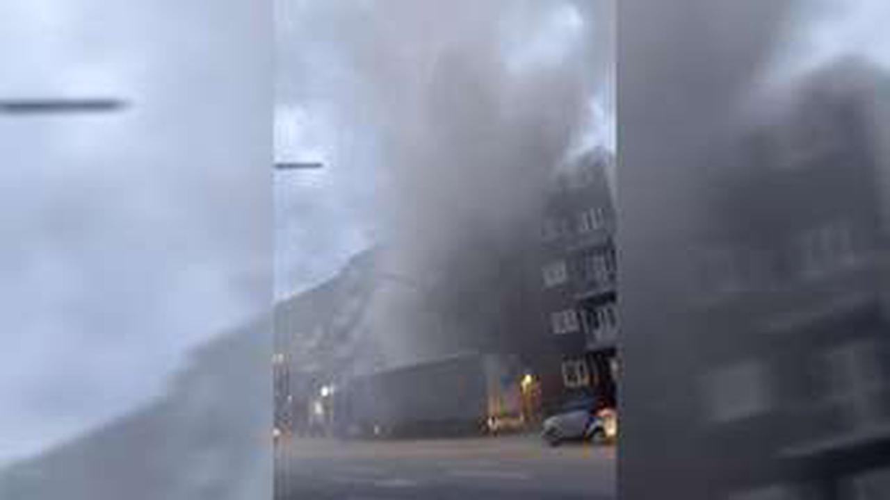 Rauchwolke über der Kieler Straße – LKW sorgt für Feuerwehreinsatz