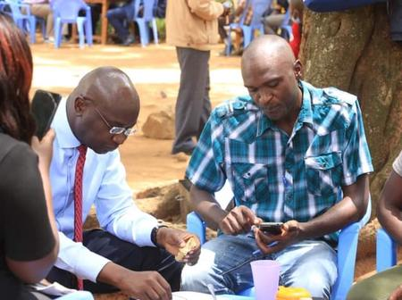 Kenyans React After Bungoma Governor Wycliffe Wangamati Posted These Photos
