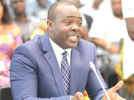 Hon. Isaac Asiamah Goes out as Sports Minister.