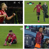 Huge Blow To Manchester United As Star Player Gets Injured In The Last Minutes Against Man City