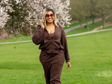 2 Days After E-Money's Wife Arrived London, Check Out The Beautiful Apparels She Has Rocked (Photos)