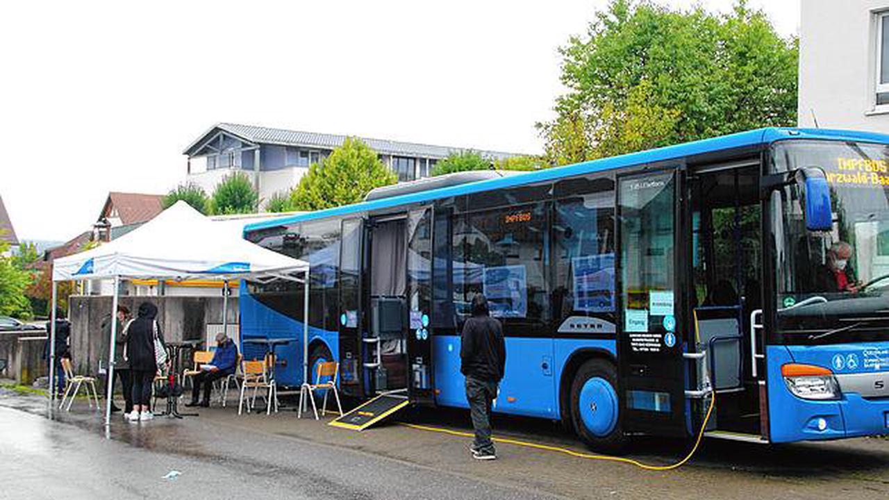 Schwarzwald-Baar-Kreis: Impfbus-Angebot des Kreisimpfzentrums verzeichnet wieder mehr Zulauf