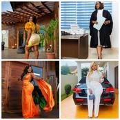 Meet The Alleged Most Beautiful And Curvaceous Ghanaian Female Lawyer - Akua B Flaunts Her Photos