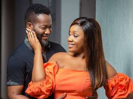 Adjetey Anang Celebrates 14th Marriage Anniversary With Romantic Photos