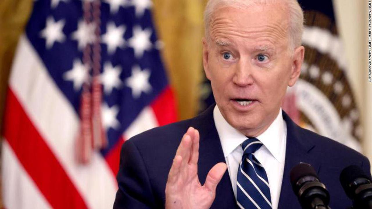 Biden 'sympathetic' over Harry Dunn case, Johnson says