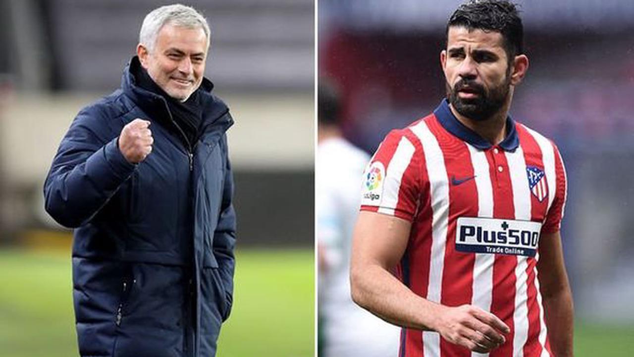 Diego Costa to Tottenham: Jose Mourinho given transfer advice as Arsenal eye bold swoop