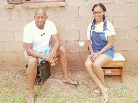 Meet Sandile Ndlovu and his beautiful wife.
