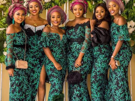 Preparing for Marriage? Meet your Tailor with these Traditional Marriage Asoebi Styles - Photos