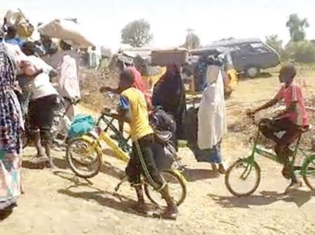 100,000 Northerners Flee To Niger Republic As Boko Haram Attacks Borno Town
