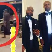 Davido's P.A Israel DMW Finally Reacts To Viral Video Of Him Trekking & Entering Okada [Video]