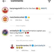 Eric Bailey trolls Man Utd Captain on social media after big win versus Man City last night