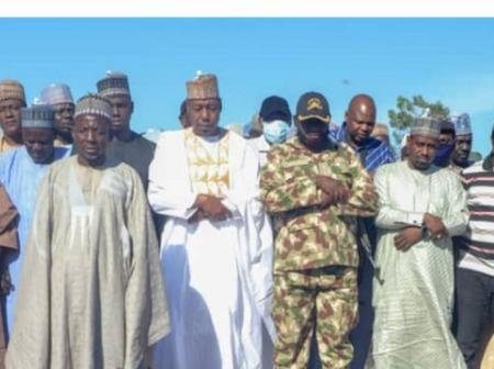 Boko Haram: Zulum leads the funeral of 43 farmers slaughtered by Boko Haram