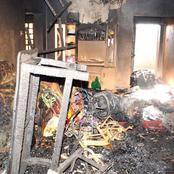 House In Bismarck Nakuru County Burnt Down Leaving The House help Dead