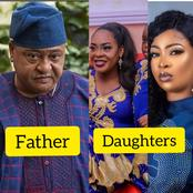 See Adorable Photos of Actor Jide Kosoko's 2 Daughters who are also In Acting, Their Husband & Kids