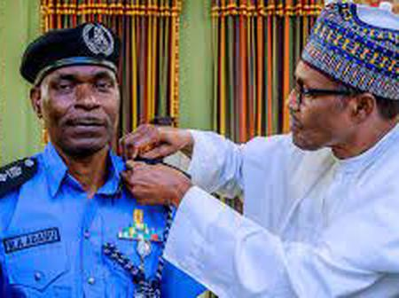 President Buhari Appoints Usman Alkali As New Acting Inspector Of Police