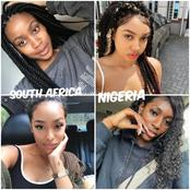 Between South Africa and Nigeria, which of these countries have more beautiful girls? (photos)
