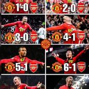 Every Player That Scored During Arsenal Defeat To Manchester United, When They Lost 8-2