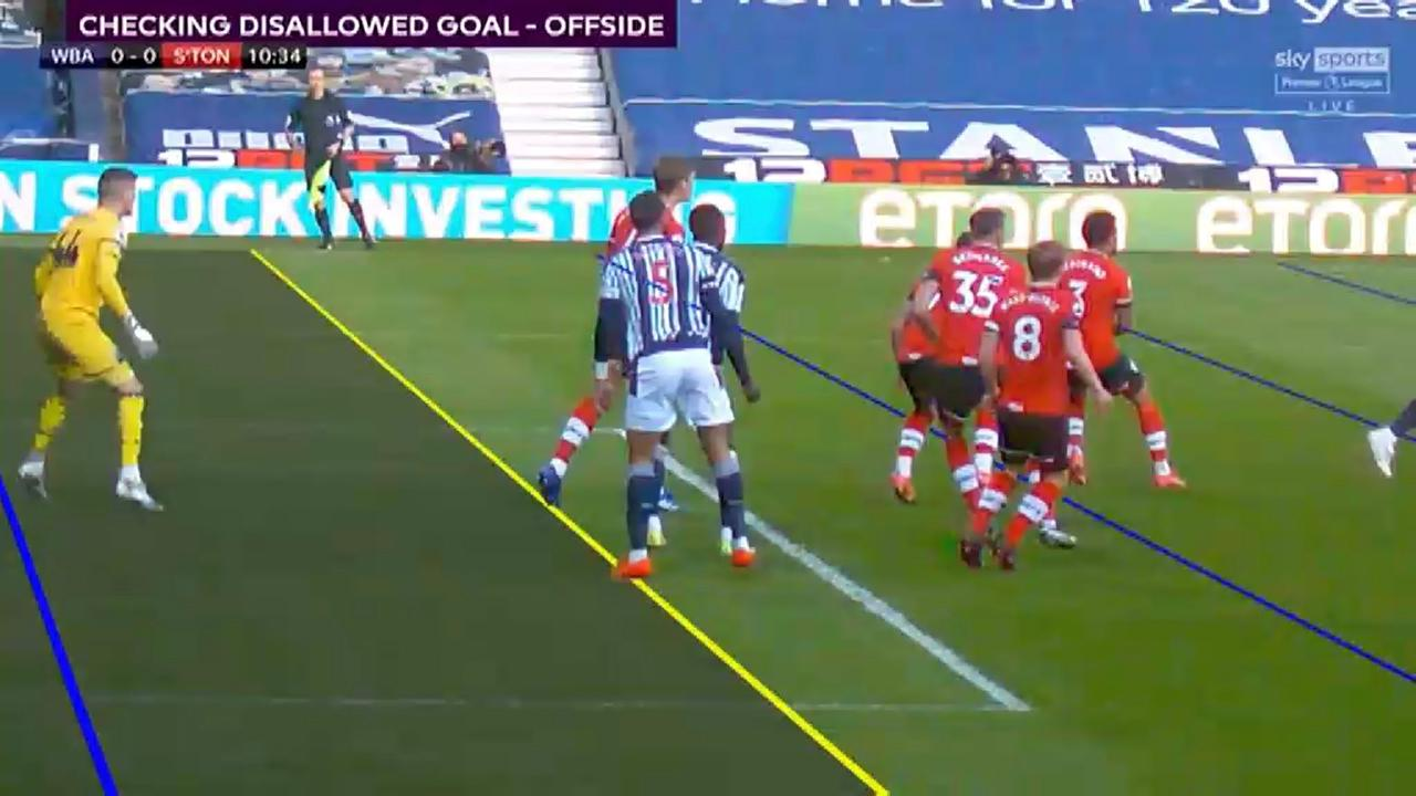 VAR shambles as West Brom denied goal with cameras 'unable to draw line'