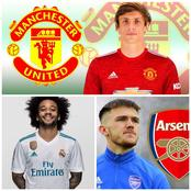 Wednesday: Done Deals, Le Normand To Man Utd, Marcelo To Monaco, Woodman To Arsenal & More News