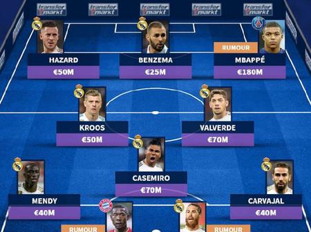 Opinion: How Real Madrid Could Line Up Next Season If Rumors Are True