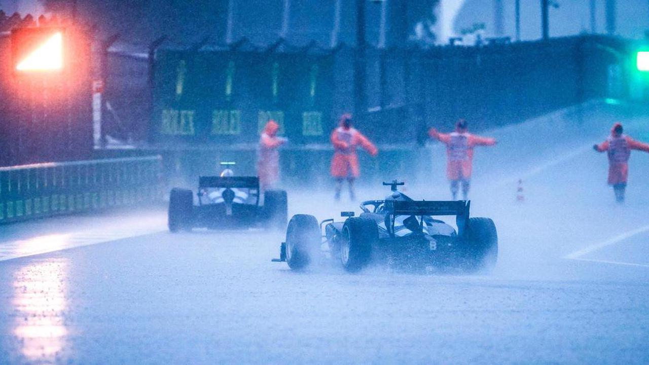 GP von Russland - Viel Regen in Sotschi
