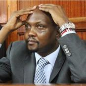 Moses Kuria To Serve 8 Months In Jail or Pay a fine of This Amount For Flouting Covid-19 Rules