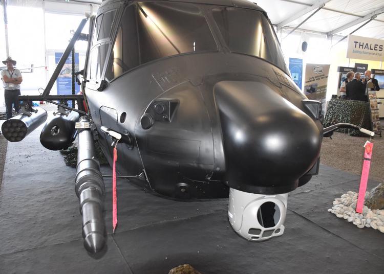 Maquette van de NH90 TFRA standaard 2