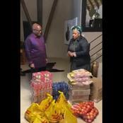 WATCH: Dudu Myeni Donates Groceries To Jacob Zuma At Nkandla