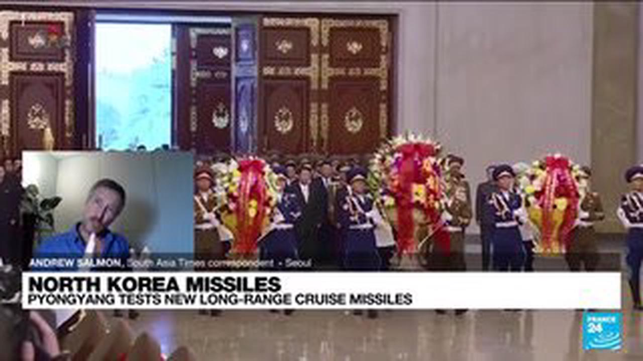 North Korea fires TWO ballistic missiles sparking war fears in flagrant challenge to Biden
